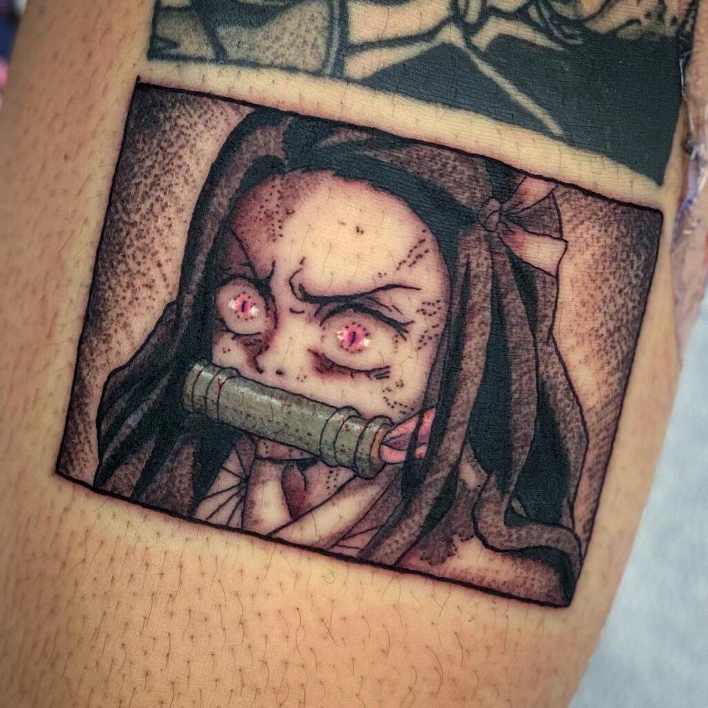 Nezuko tattoo