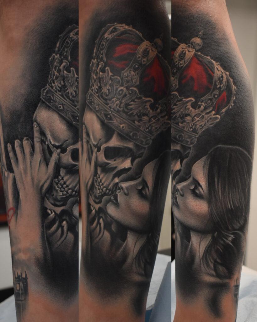 Skull_King_Kissing_Queen_Tattoo